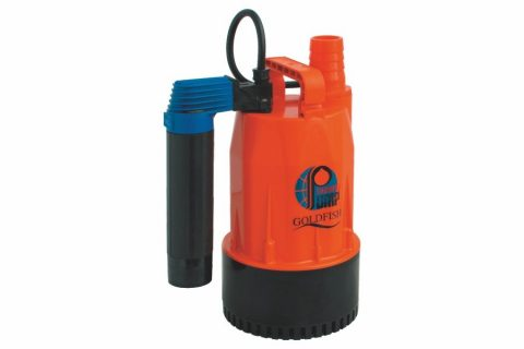 GFA-370V Thermoplastic Portable Utility Pump with Vertical Switch