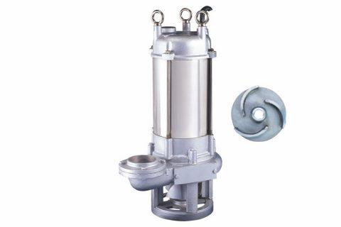 GPQ series submersible stainless steel grinder pump, submersible sewage pump for macerator