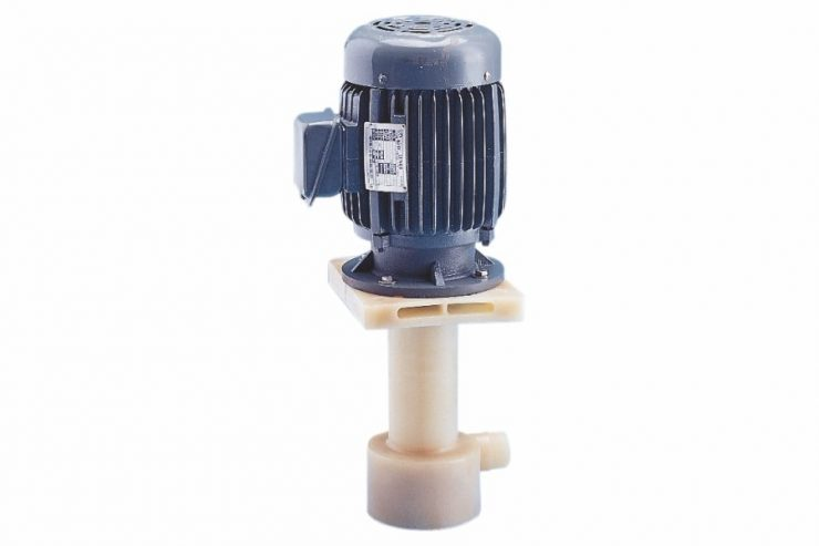 PE-F Series PVDF Dry-free Sealless Chemical Vertical Pump