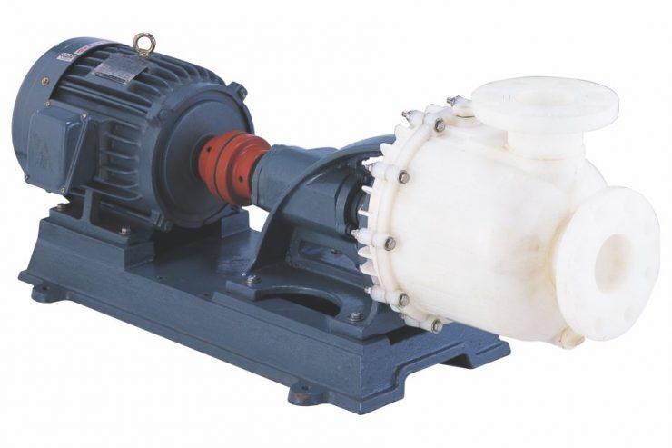 PL-F series Base-Mounted PVDF Self-Priming Chemical Pump