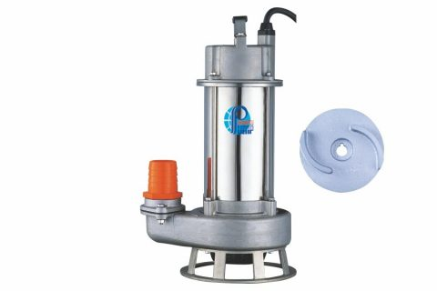 SSQ Series Cast Stainless Steel Submersible Sewage Pumps