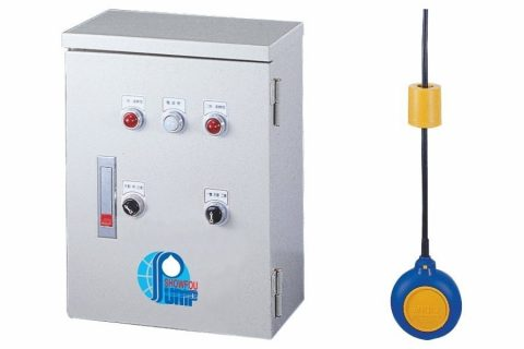 SB series Submersible Pump Control Panel Box, a Magnetic Float Switch (9M length) including the counter-weight.