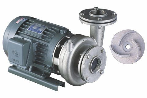 CVQ-K Series 316 Cast Stainless Centrifugal Pump (SCS14) for wastewater