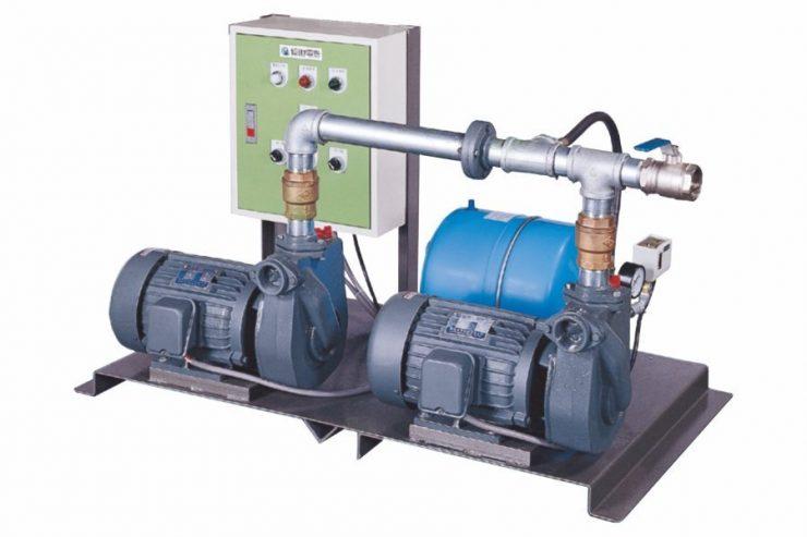 DPA (2HP, 3HP), Two Pump Booster Set