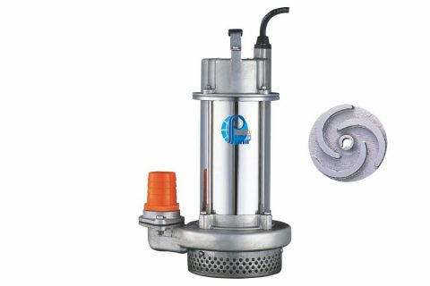 SQ Series Cast Stainless Steel Submersible Sump Pump (SCS 13)