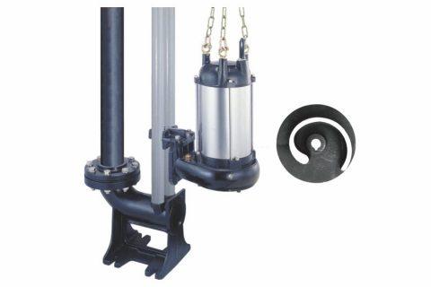 STO-T Series Submersible Non-clog Sewage Pump